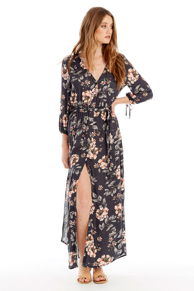 Goldie Midi Dress - Garden Dream
