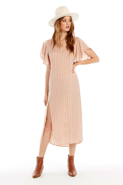 Kel Midi Dress - Lovely Stripe