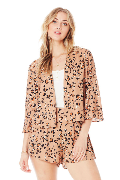Garvey Jacket - Leopard Tracks