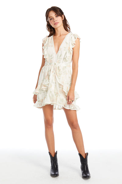 California Bloom Alexandra Mini Dress