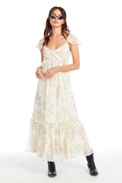 California Bloom Grace Midi Dress