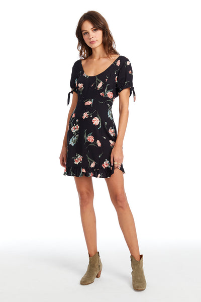Rocco Mini Dress - Floral Bloom