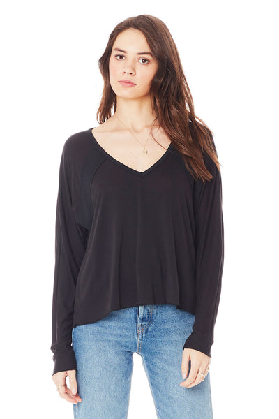 LONG SLEEVE A-LINE TOP
