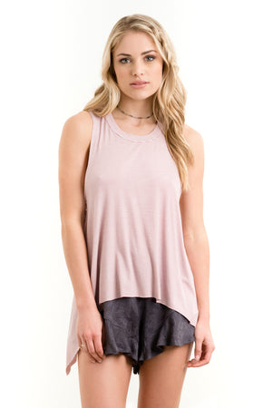 Salty Air Tank Orchid Stripe