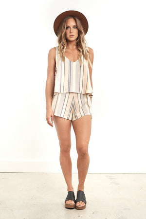 Farrah Short Stripe