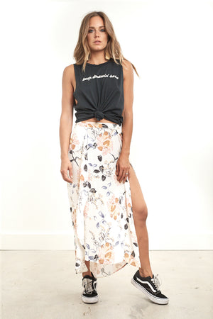 Haven Midi Skirt Floral