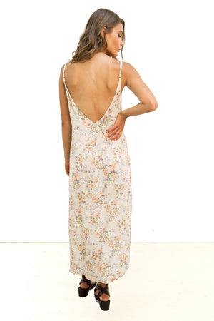 Sundown Midi Dress Floral