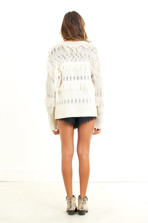 Free Spirit Sweater Vanilla