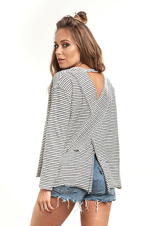 Salty Air Long Sleeve Stripe