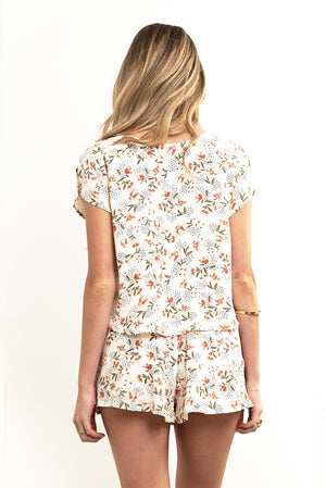 Memphis Top Dot Floral
