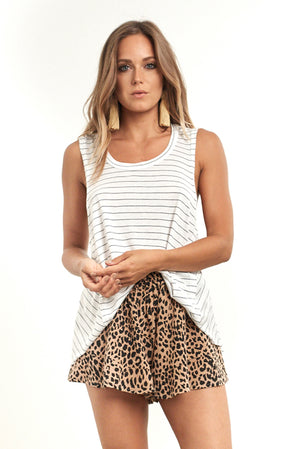 Highway Tank Thin Stripe