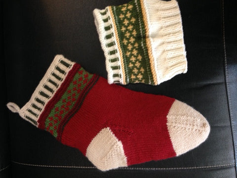 Stocking or Boot-Topper Class