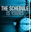 Schedule On your time.