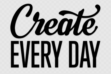 Create Every Day Sticker