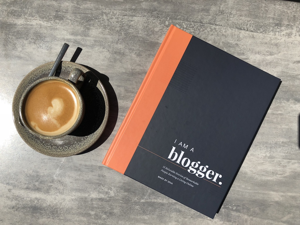 I Am A Blogger coffee table book