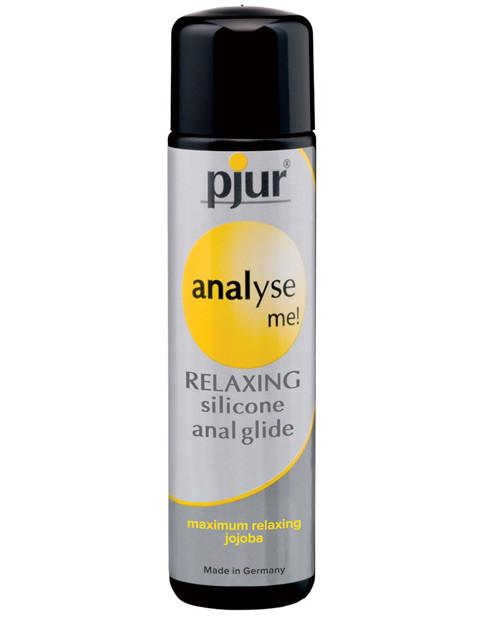 Numbing anal lubricant