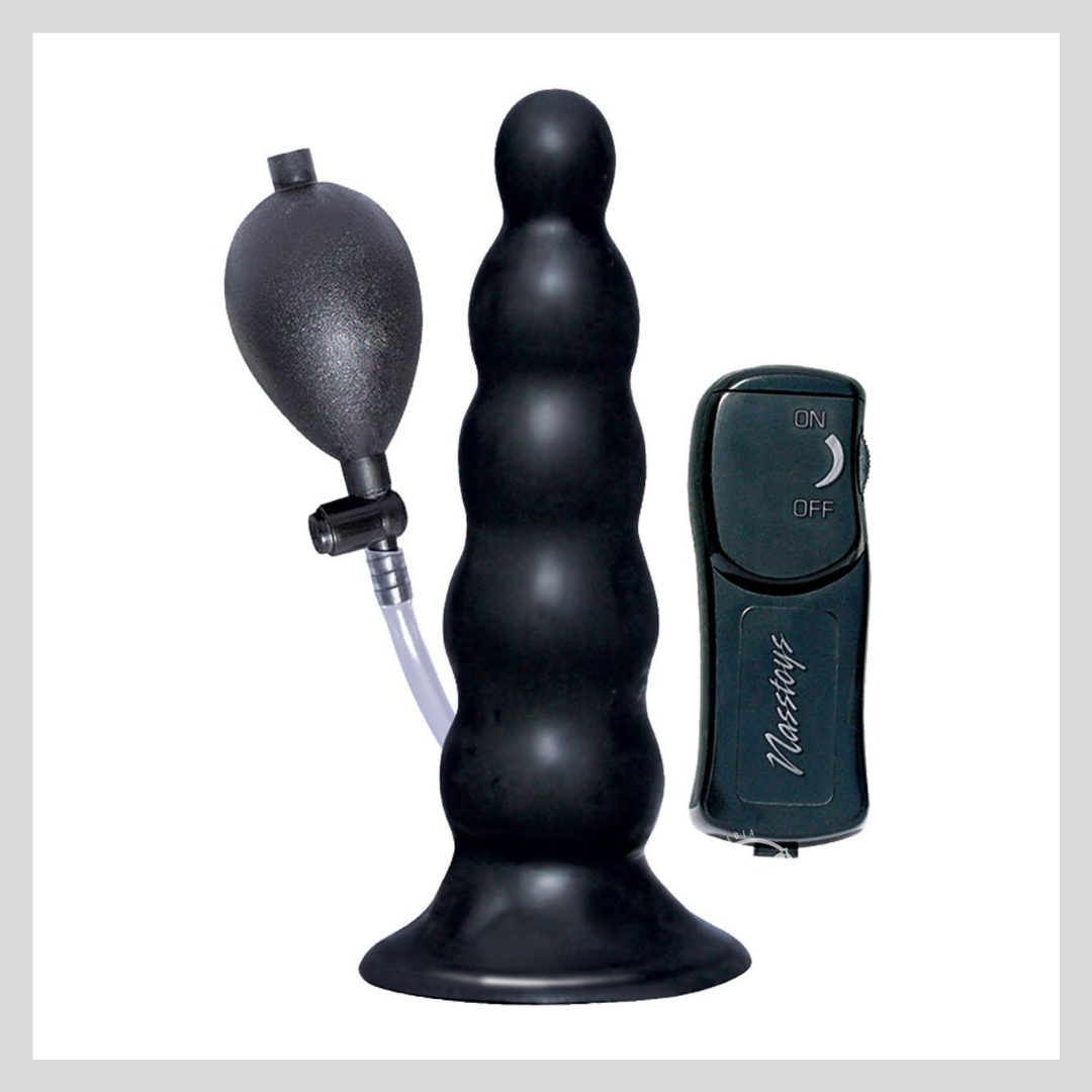 Ram Inflatable Vibrating Anal Expander