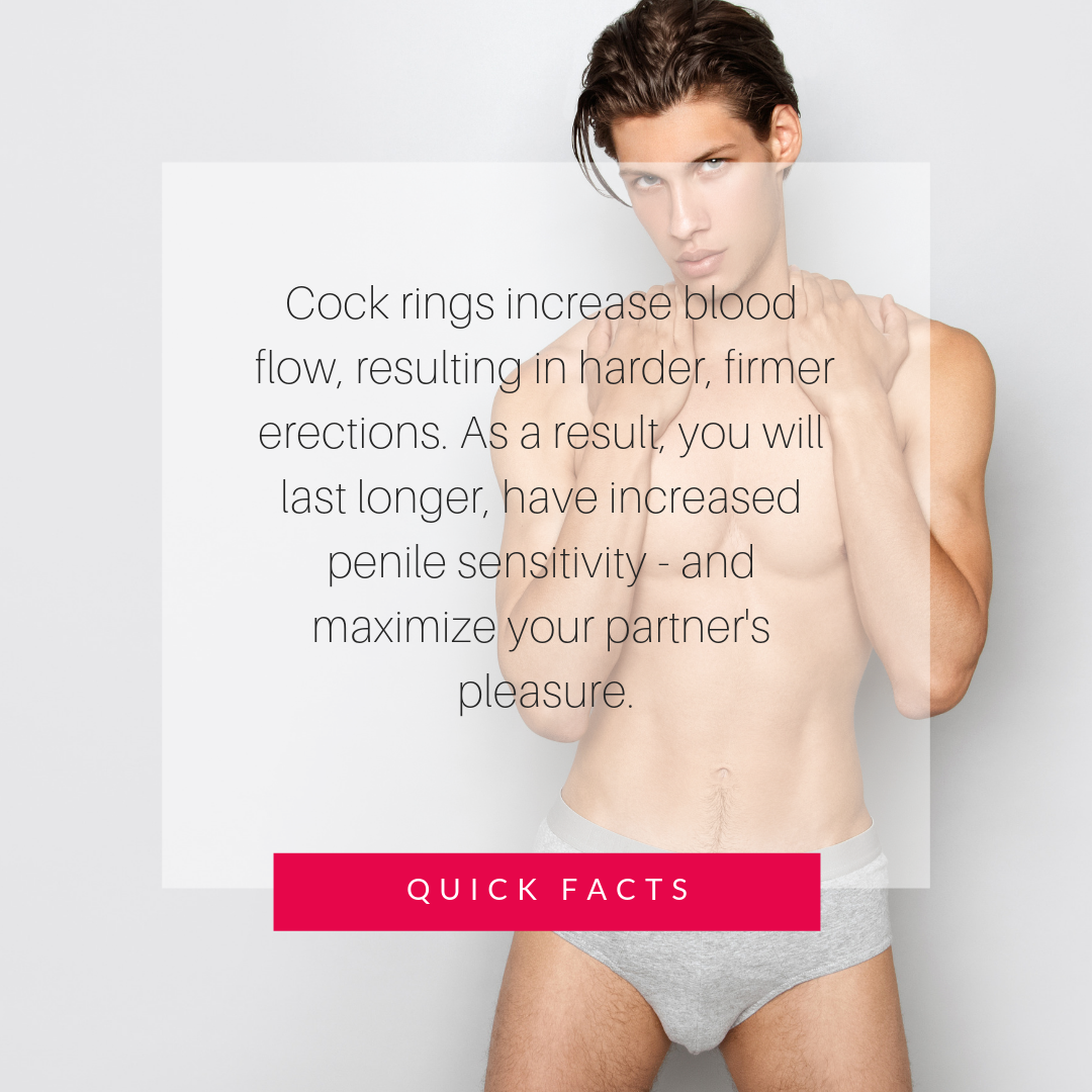 quick facts about cock rings