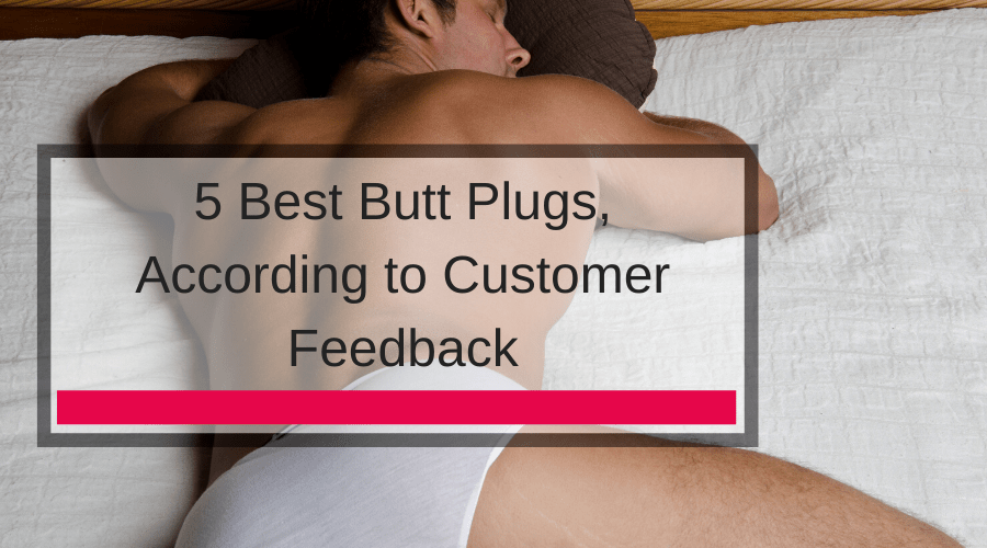 5 Best Butt Plugs, According to Customer Feedback