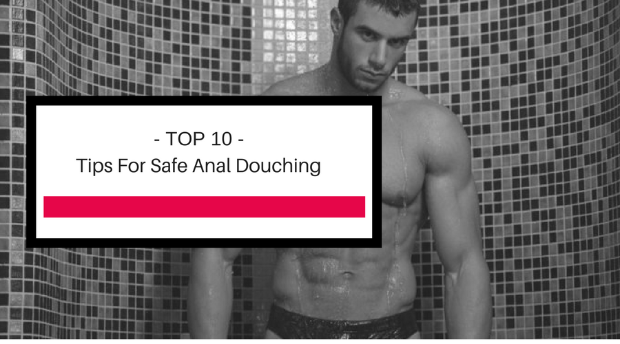 Should you douche before anal sex
