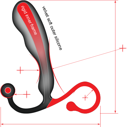 Aneros Male Prostate Stimulator - Helix Syn - Gay Men's Sex Toys - Adam's Toy Box