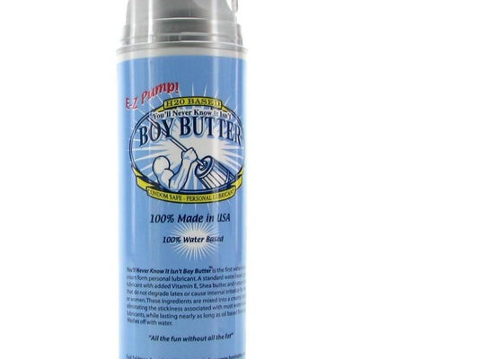 Boy Butter Easy Pump - H2O - Gay Men's Sex Toys - Adam's Toy Box