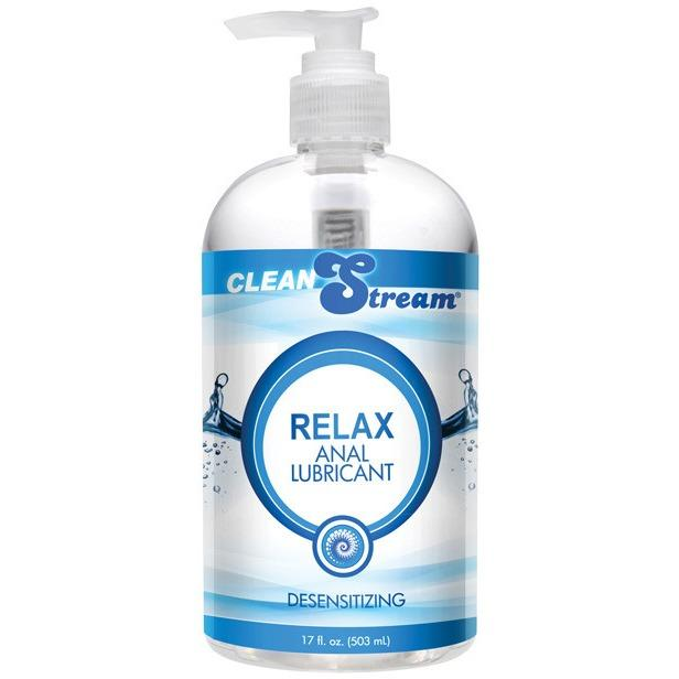 Clean Stream Relax Desensitizing Anal Lube - Gay Men's Sex Toys - Adam's Toy Box