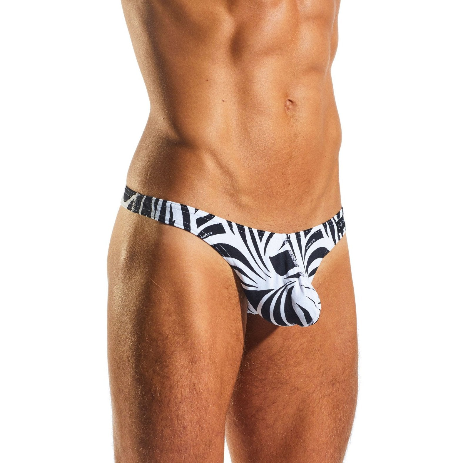 Cocksox Enhancing Pouch Thong - Animal Print - Gay Men's Sex Toys - Adam's Toy Box