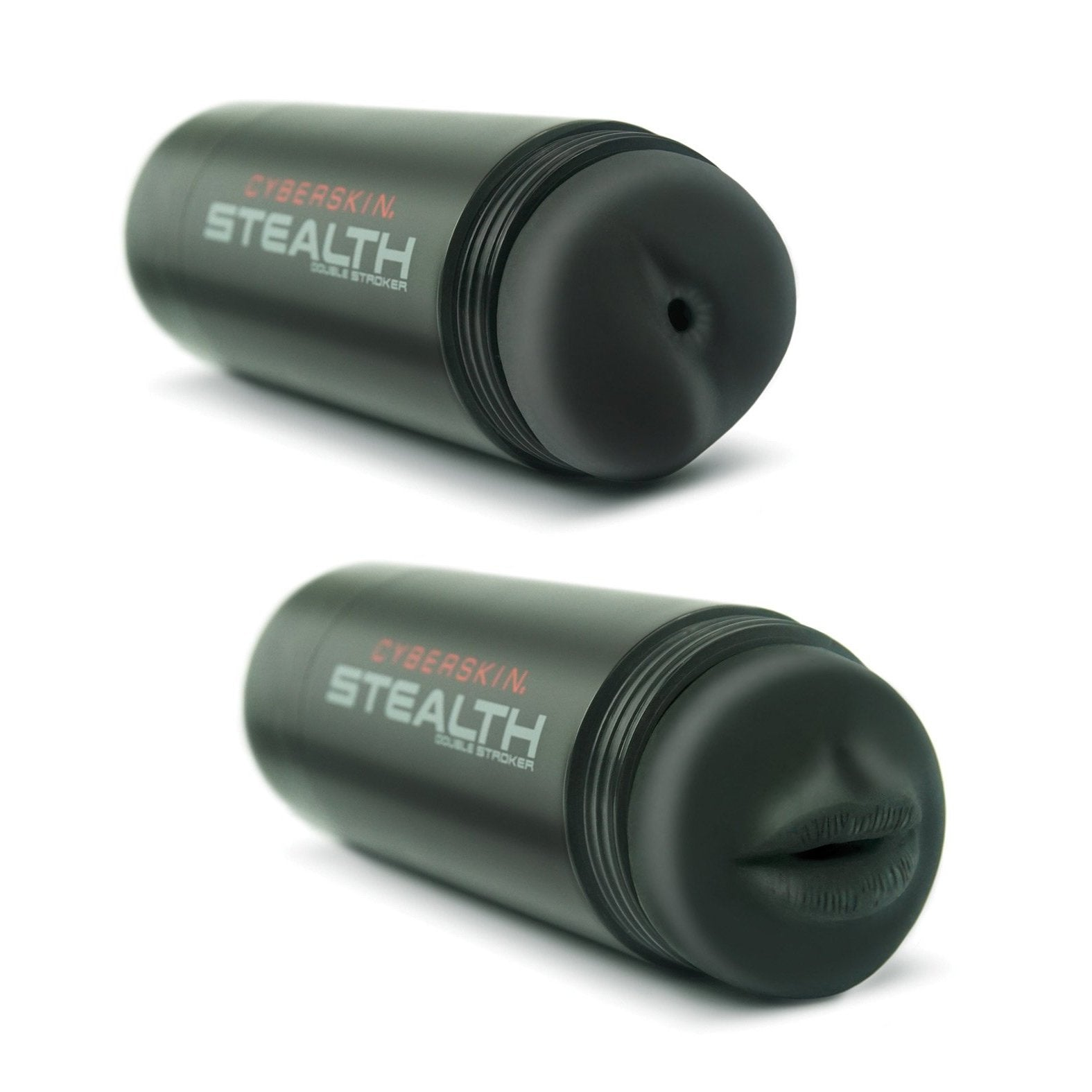 Cyberskin Stealth Dual Stroker Mouth & Anal - Gay Men's Sex Toys - Adam's Toy Box