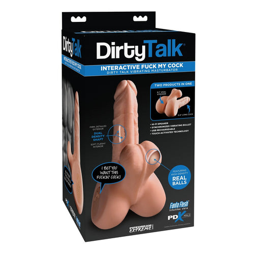 Dirty Talk PDX Fuck My Cock - Gay Men's Sex Toys - Adam's Toy Box