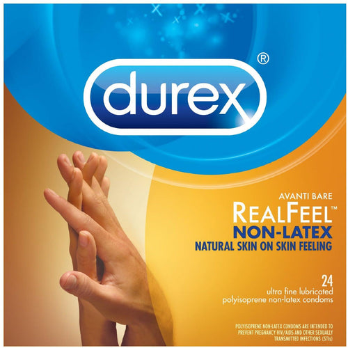 Durex Avanti  Real Feel Non Latex Condoms - Pack of 3 - Gay Men's Sex Toys - Adam's Toy Box