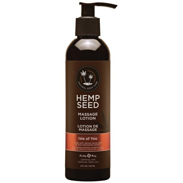 Earthly Body Hemp Seed Massage Lotion - Gay Men's Sex Toys - Adam's Toy Box