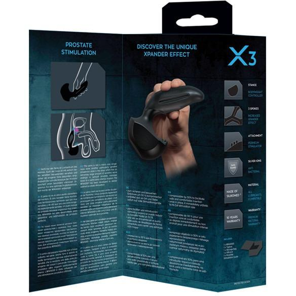 Joydivision XPander X3 - The Specialist Prostate Massager-Adam's Toy Box