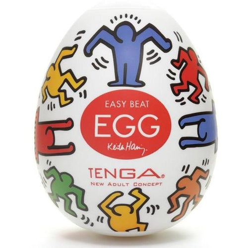 Keith Haring Tenga Egg - Dance - Gay Men's Sex Toys - Adam's Toy Box