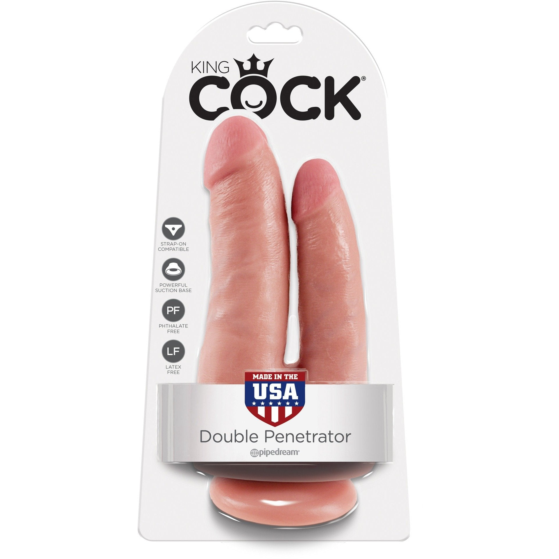 King Cock Double Penetrating Dildo-Adam's Toy Box