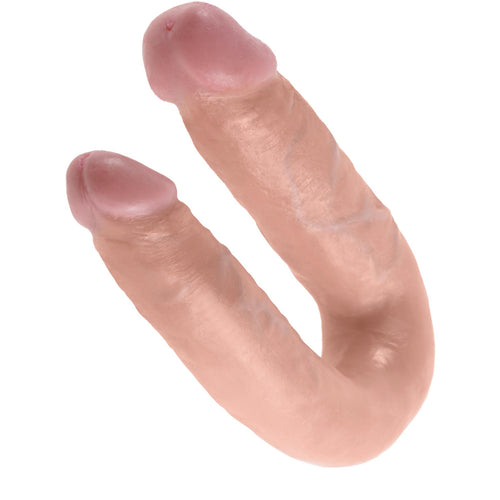 King Cock Medium Double Trouble - Double Ended Dildo-Adam's Toy Box