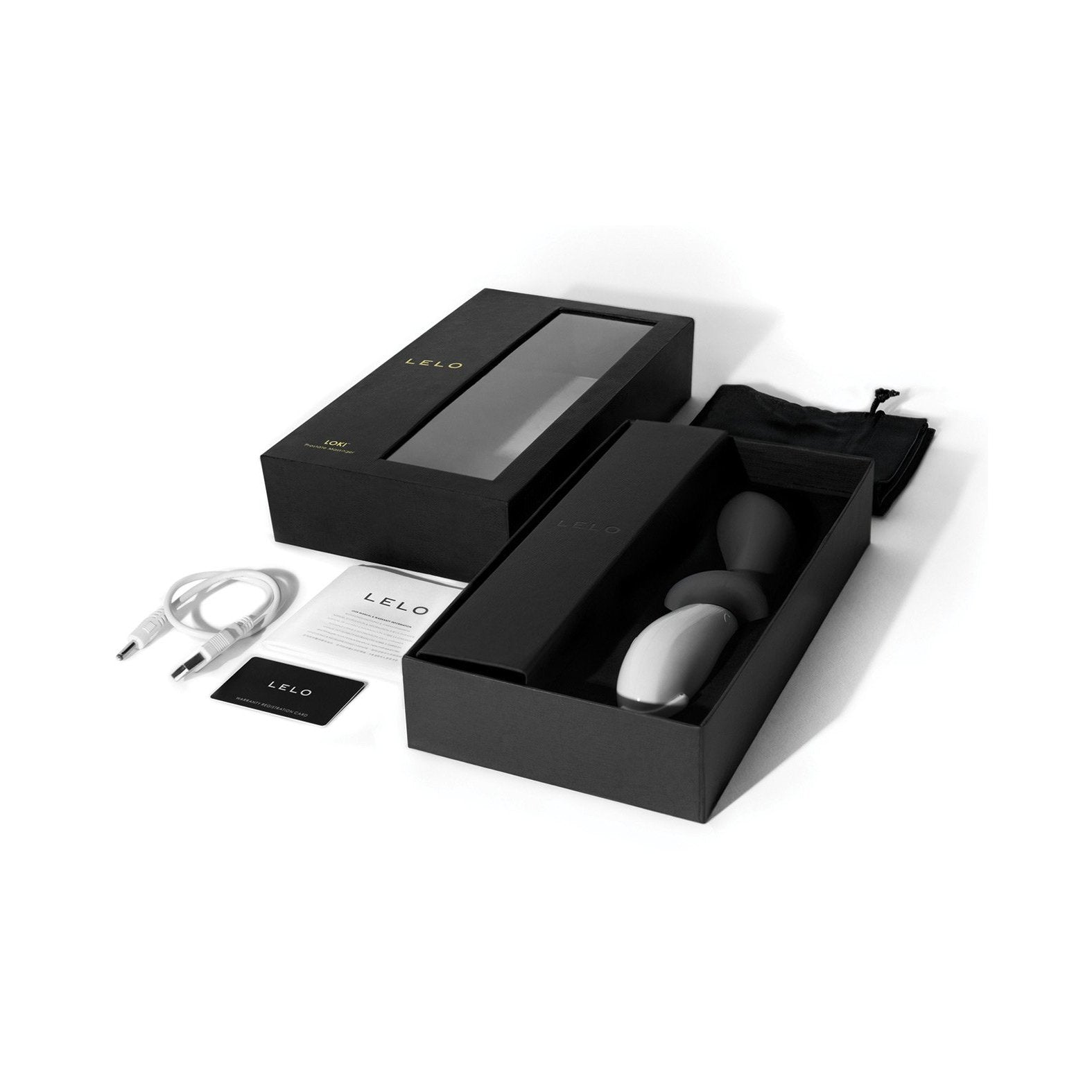 LELO Loki - Prostate Vibrator - Gay Men's Sex Toys - Adam's Toy Box