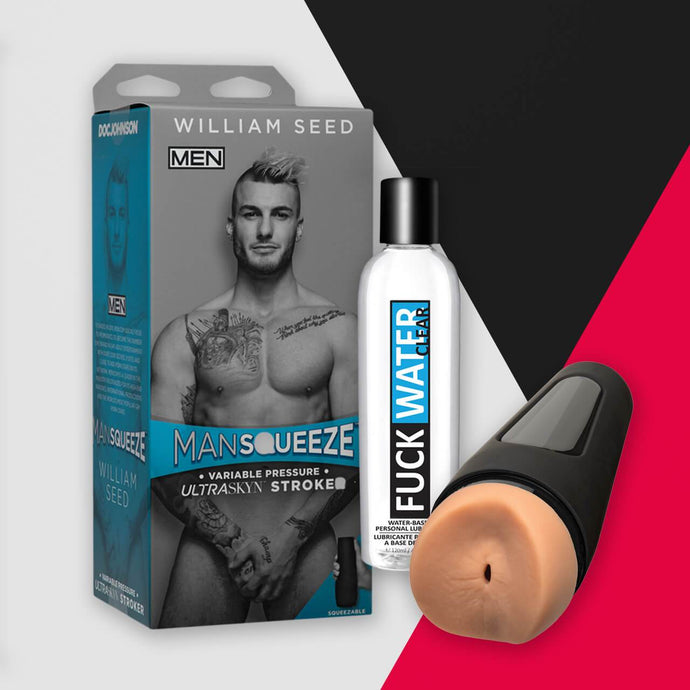Make Me Jizz Kit! William Seed - Gay Men's Sex Toys - Adam's Toy Box