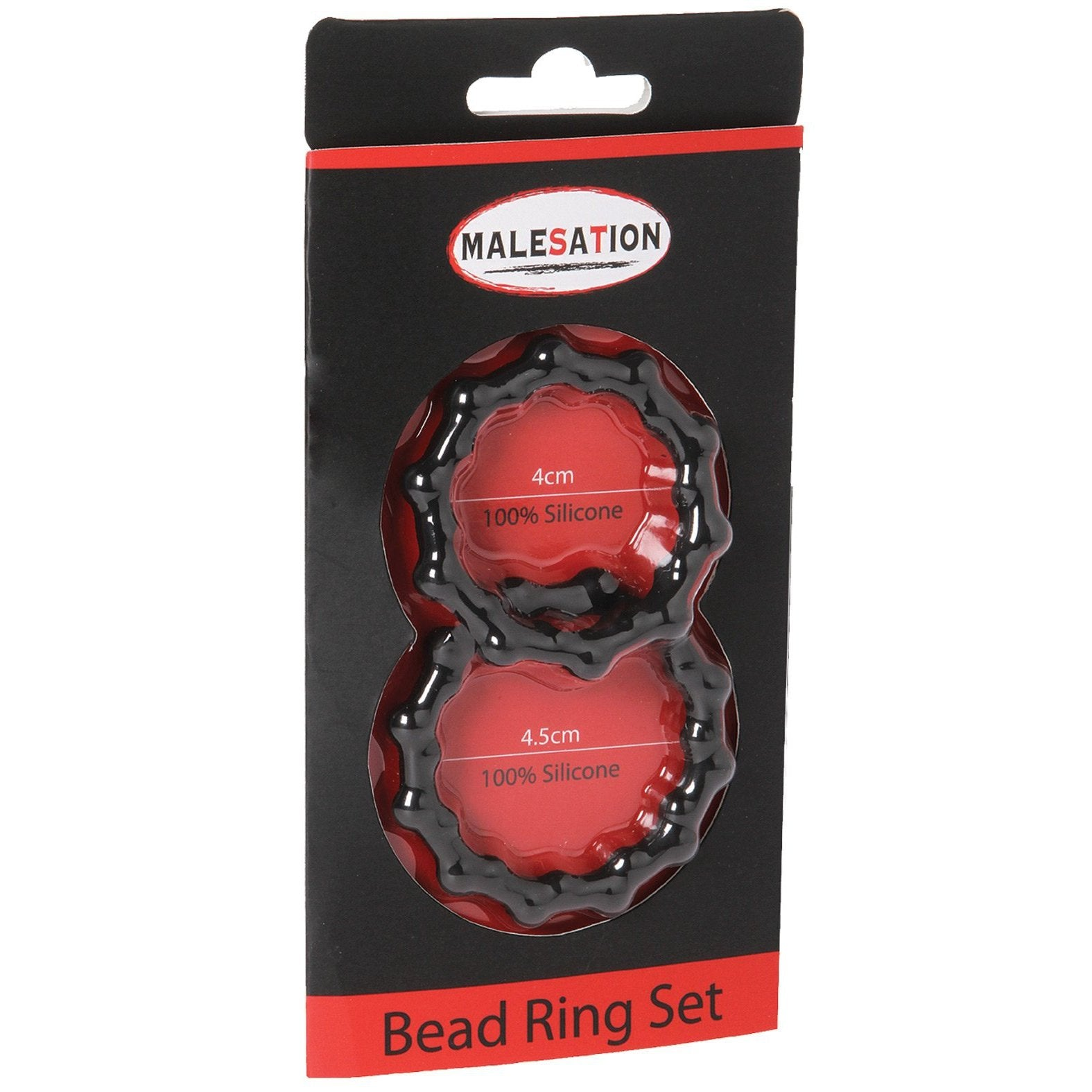 Malesation Bead Cock Ring Set - Gay Men's Sex Toys - Adam's Toy Box