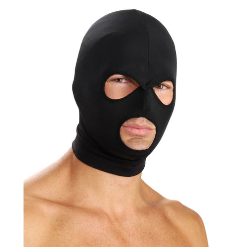 Master Series Spandex Hood with Eye & Mouth Holes - Gay Men's Sex Toys - Adam's Toy Box