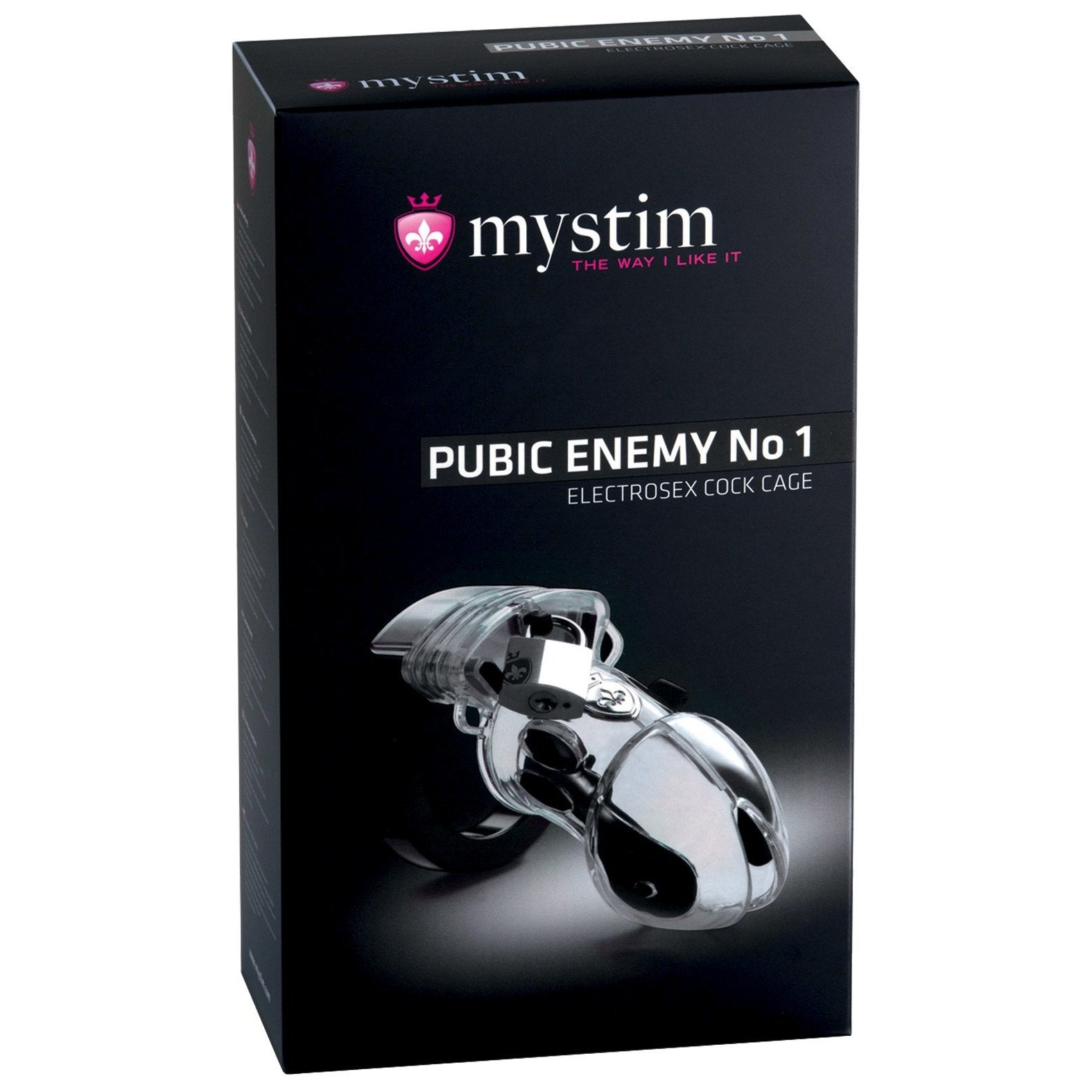 Mystim Pubic Enemy #1 Cock Cage - Gay Men's Sex Toys - Adam's Toy Box