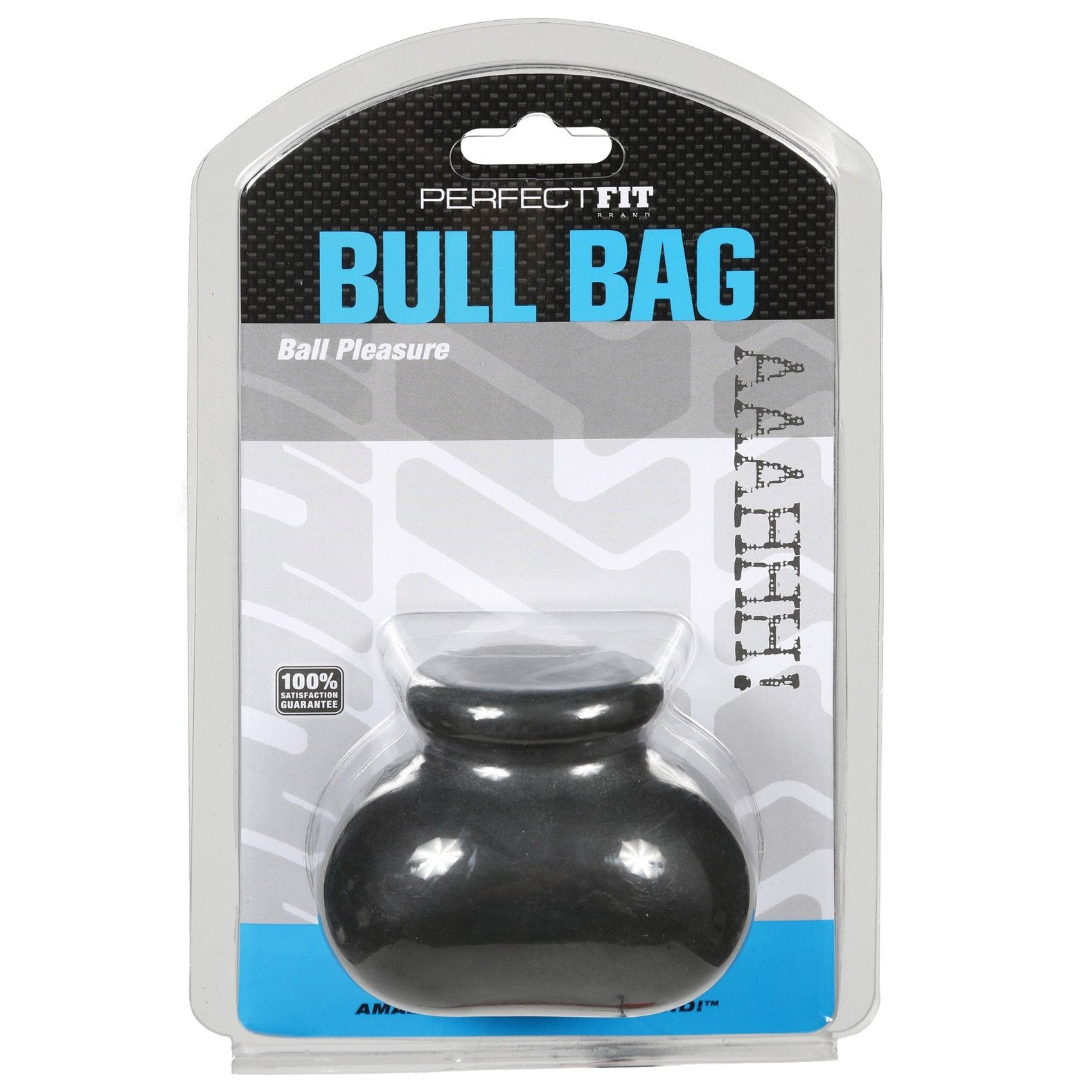 "Perfect Fit Bull Bag 3/4"" Ball Stretcher - Gay Men's Sex Toys - Adam's Toy Box"