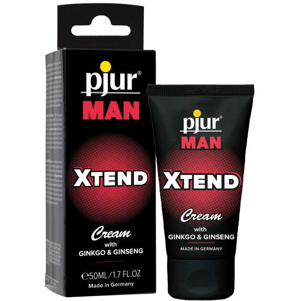 Pjur Man Xtend Cream - 1.7oz - Gay Men's Sex Toys - Adam's Toy Box