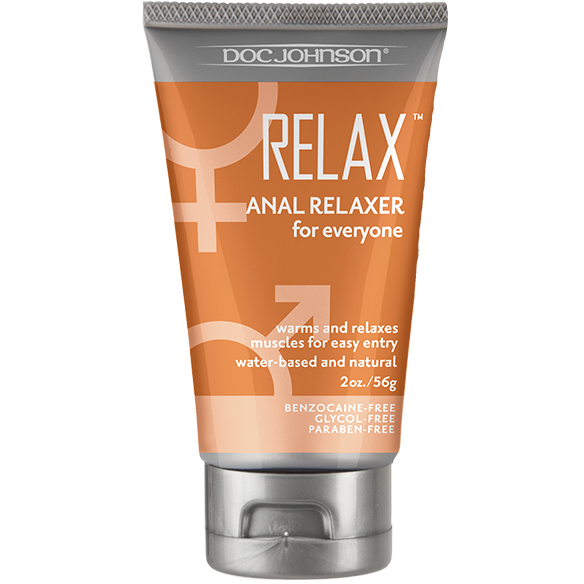 Relax Anal Relaxer - 2 oz Tube-Adam's Toy Box