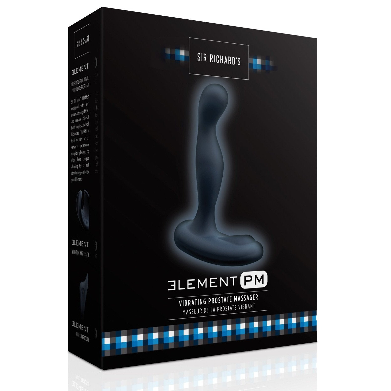 Sir Richards Elements Prostate Massager - Gay Men's Sex Toys - Adam's Toy Box