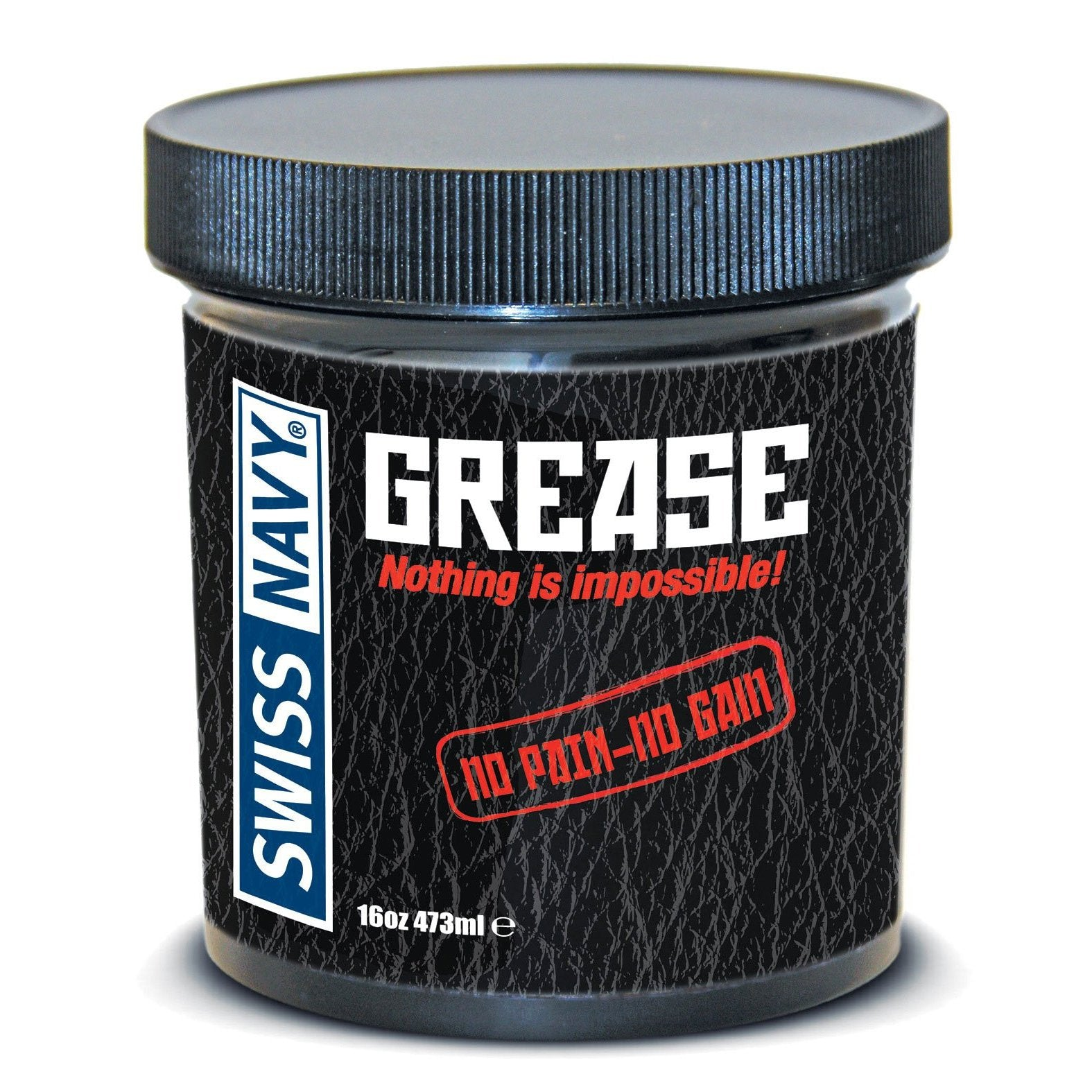 Swiss Navy Grease - 16oz Jar-Adam's Toy Box