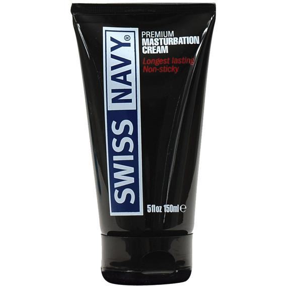 Swiss Navy Premium Masturbation Cream - Gay Men's Sex Toys - Adam's Toy Box