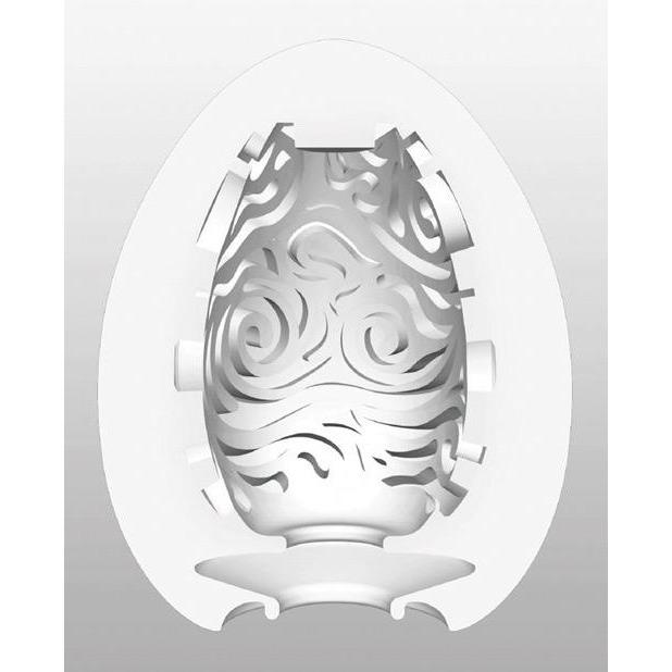Tenga Hard Gel Egg - Cloudy - Gay Men's Sex Toys - Adam's Toy Box