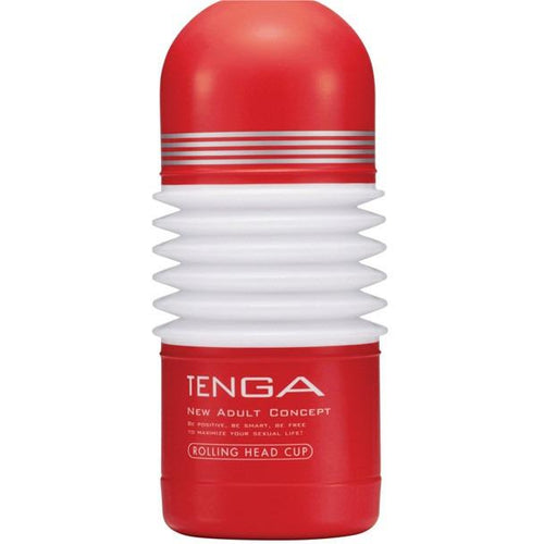 Tenga Rolling Head Cup Masturbator - Gay Men's Sex Toys - Adam's Toy Box