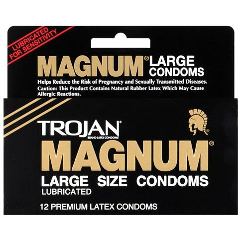 Trojan Magnum Condoms - Gay Men's Sex Toys - Adam's Toy Box